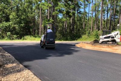 highways road in rural scene